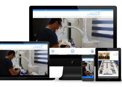 طراحی سایت دکتر طاولی